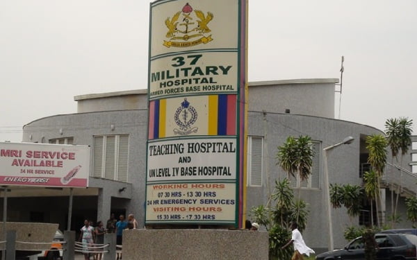 37 Military Hospital to close some units for routine fumigation exercise