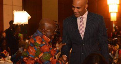 Akufo-Addo lauds Boris Kodjoe and Bozoma Saint John in SoNA address