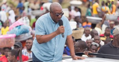 """Even if our thumbs are chopped off we will use our toes to vote for you""- Asempaneye chief to John Mahama"