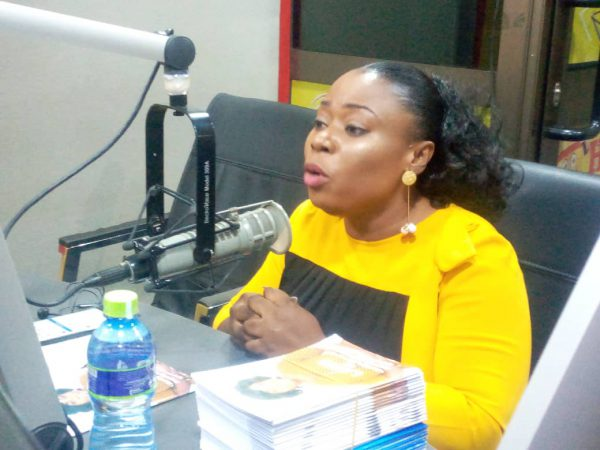 Lawyer Mary Ohenewaa Afull on radio