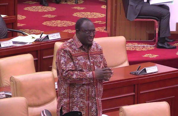 Allan Kyeremanten Minister for Trade and Industry