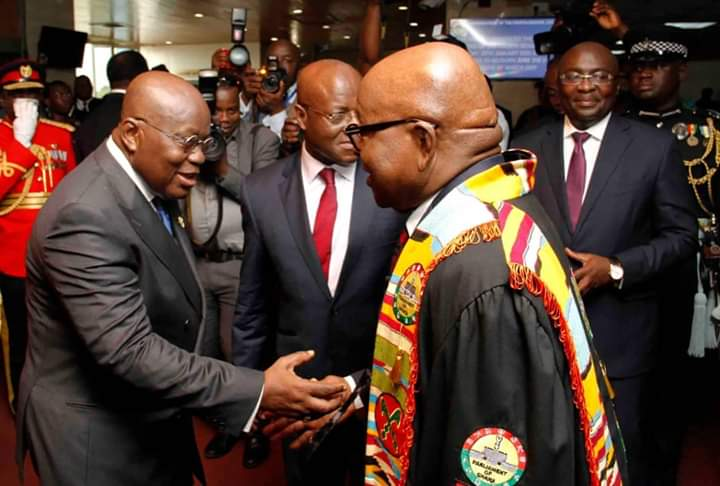 COVID-19: President Akufo-Addo summons emergency meeting of Speaker of Parliament and leadership of the House
