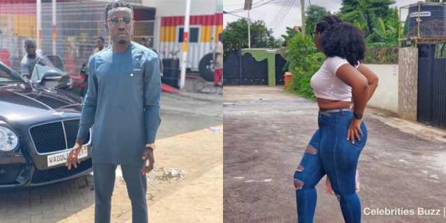 Criss Waddle 'punches' a female fan who called him broke