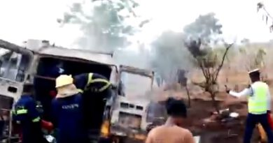 Fire Service advises public after Kintampo accident