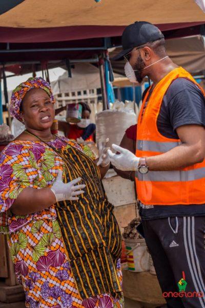 Jonathan Mensah Foundation And One Ghana Volunteers Join Forces Against Coronavirus