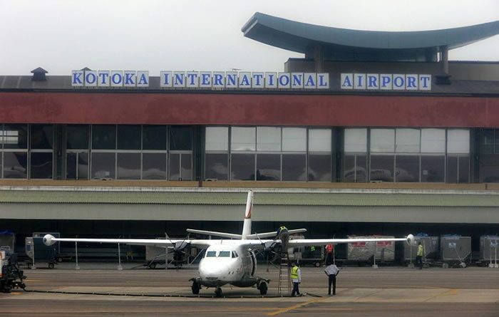 Just In Foreigner Faints At Kotoka Airport Upon Arrival In GhanaVideo