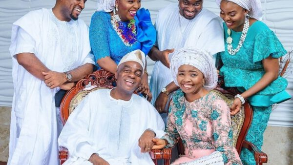lovely family photos of billionaire clergyman bishop david oyedepo his wife and children