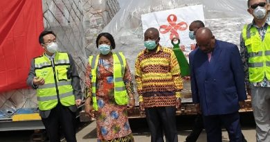Ghana receives PPE from China to fight Coronavirus