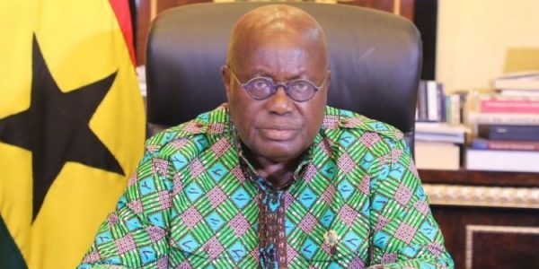 President Akufo-Addo, family test negative for COVID-19