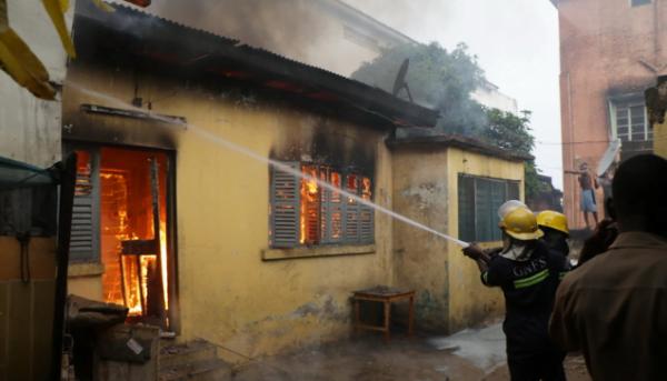 Screenshot 2020 04 22 Fire guts adjoining building to Multimedia Group administrative block MyJoyOnline com3 e1587562295429