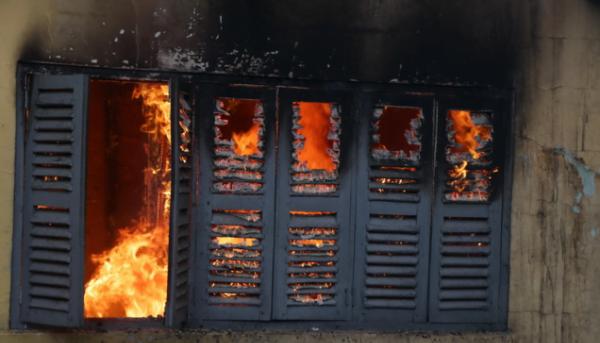 Screenshot 2020 04 22 Fire guts adjoining building to Multimedia Group administrative block MyJoyOnline com4 e1587562379135