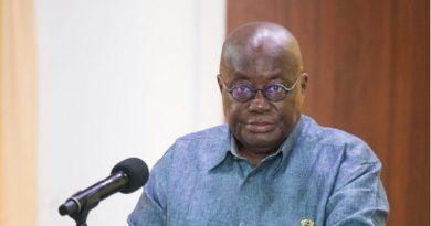 Coronavirus: Eat Kontomire, Dawadawa, Millet to boost your immunity - President Akufo-Addo