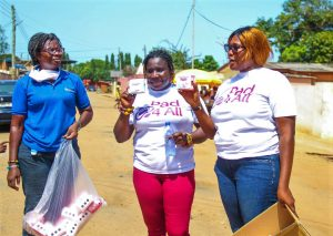 Fay International partners others to promote menstrual hygiene
