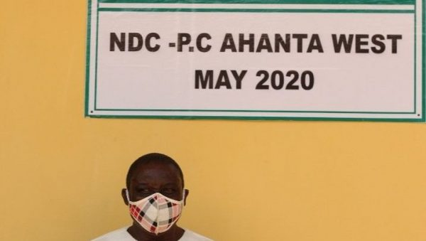 NDC Ahanta West candidate renovates isolation centre for Agona Health Centre