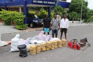 Three Arrested For Processing Marijuana