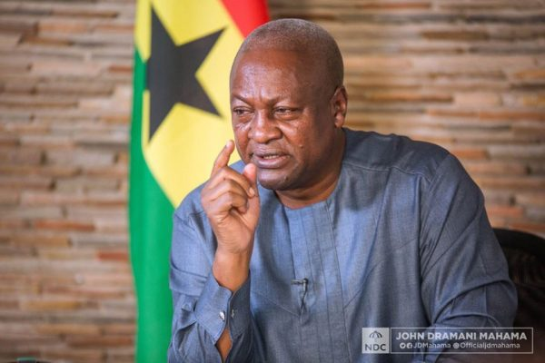 Am Ready To Be Probed Of Any Corruption Allegation Levelled Against Me - Mahama