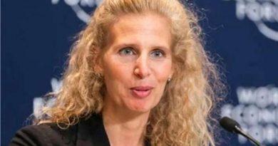 AfDB Vice President Jennifer Blanke leaves