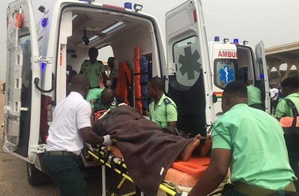 Covid-19: First case in Ahafo is ambulance driver who carried patient