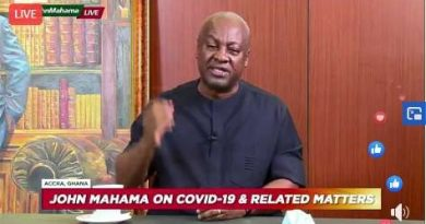 I'm waiting for NEC meeting to announce my running mate – Mahama