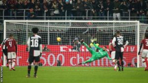 Juventus take on AC Milan as Italian football returns