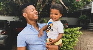 KiDi with his son Zayne