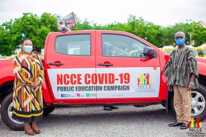 Covid-19: NCCE receives support from the presidency to up public education