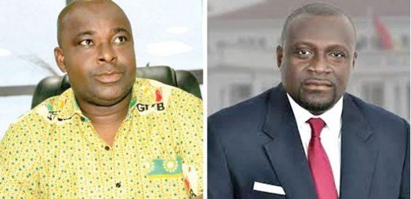 New Juaben South NPP primary: Okyere Baafi 'kicks out' Assibey Yeboah
