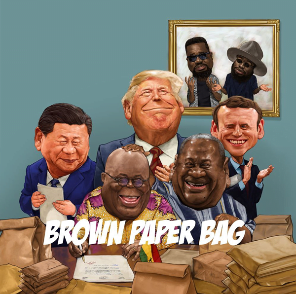 NewMusicVideo: Sarkodie Releases Brown Paper Bag ft. M.anifest