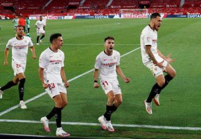 VIDEO: Ocampos shines as Sevilla win derby in La Liga return