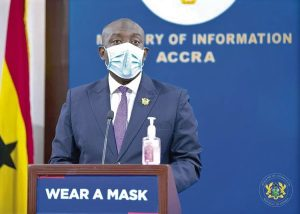 Persons who fail to wear face mask could be jailed for 10 years - Oppong Nkrumah