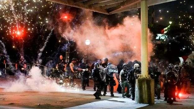 Police brutality videos during protests shock US