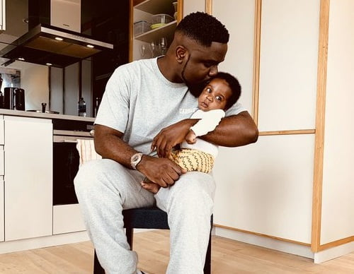 Sarkodie Celebrates Father's Day, Shows Off Son
