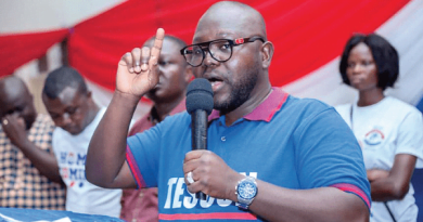 The Deputy Chief of Staff Francis Asenso Boakye