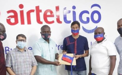 AirtelTigo supports 'Mask4All' campaign with 5k face masks for underprivileged