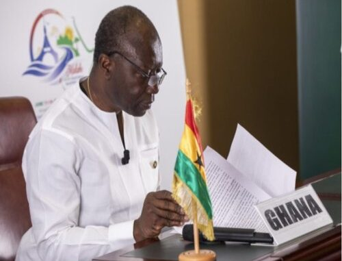 JUST IN: Ken Ofori-Atta Rewrites Budget In Parliament; Request For 2hour Delay