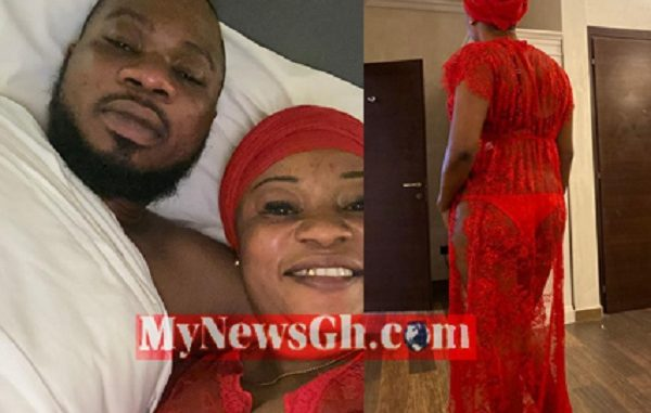 LEAKED VIDEO: Married NDC Executive, Mallam Naa Tia Busted In A Secret Love Affair In Dubai Hotel