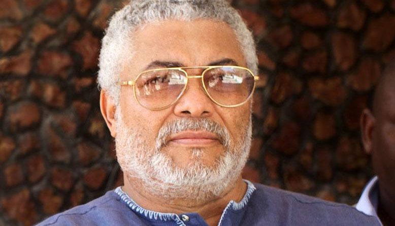 """Rawlings Advises Kwasi Adu to """"Open His Mind and Eyes""""."""