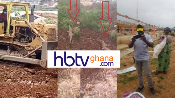 See The Shocking Moment River gods Return after Otumfuo Orders The Demolishing of Bantemahene's Stores -WATCH VIDEO