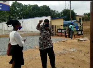 Watch How Parents of Accra Girls Rain Curses and Insults on Akufo-Addo -[WATCH VIDEO]
