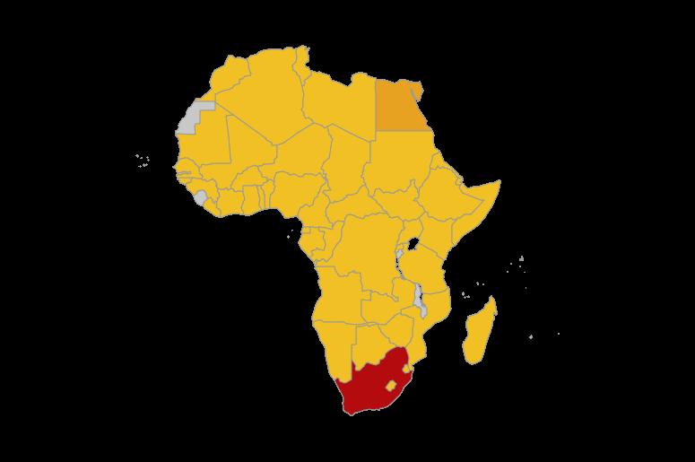 Coronavirus Track in Africa
