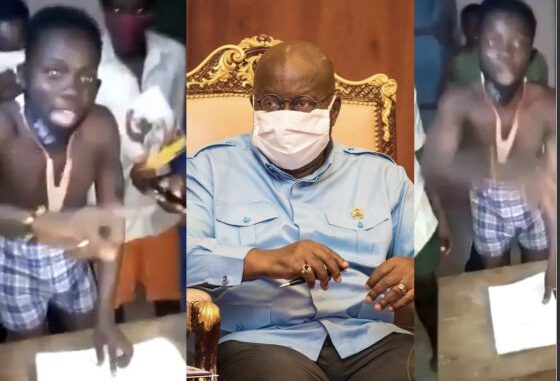 Another WASSCE Student Drops Viral Video About President Akufo Addo - Watch Video