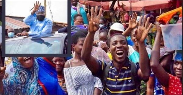 Bawumia Shakes Ashaiman With Unannounced Visit