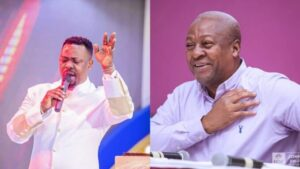God Told Me in a Vision that John Mahama will win the 2020 elections; Nigel Gaisie Says as He Drops More DETAILS
