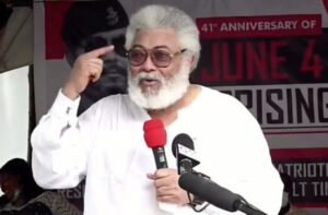 I'll deal with Kwamena Ahwoi and others - JJ Rawlings