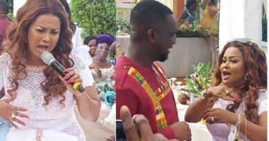Nana Ama Mcbrown Displays Serious Dancing Moves At Joe Mettle's Wedding (+Video)