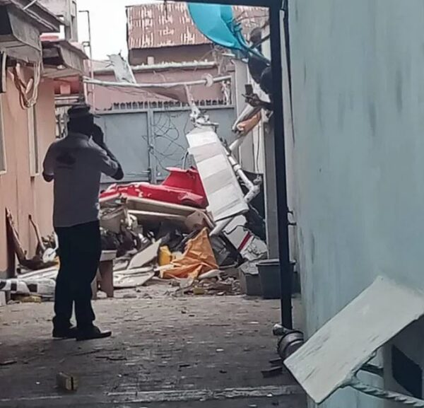 Helicopter Crashes Into A Building; Two Confirmed Dead