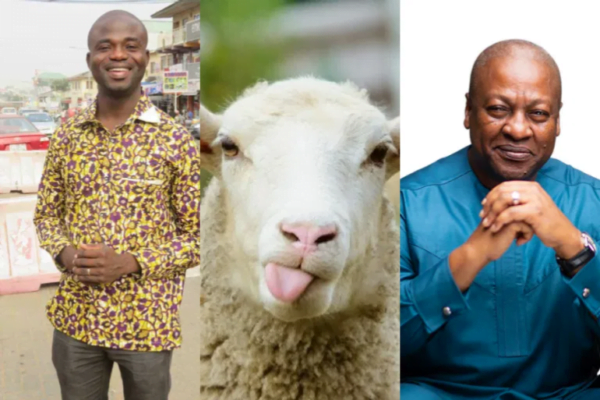 'I Would've Voted For A Sheep Rather Than John Mahama' – Manasseh Azure Tears NDC Apart In Latest Article