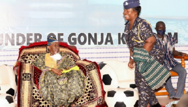 Director-General of Police Welfare installed Queen Mother by Yagbonwura