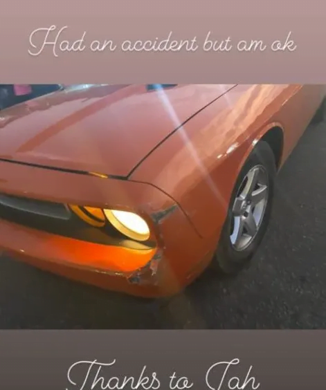 Guru Involved in a Car accident - SEE PHOTO
