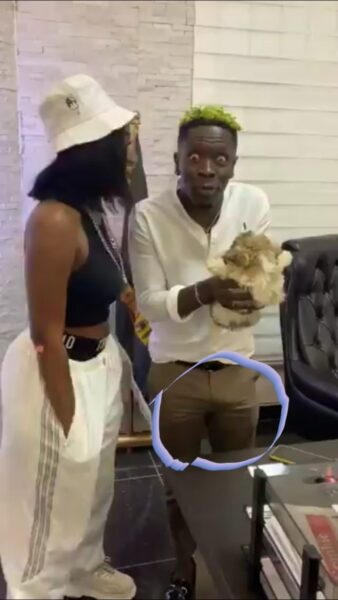 Shatta Wale's Huge D!ck Hardens After 'Chopping Love' With Wendy Shay In His Office(Video)